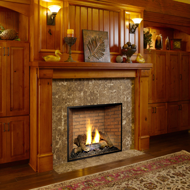 how to tell if fireplace damper is open or closed